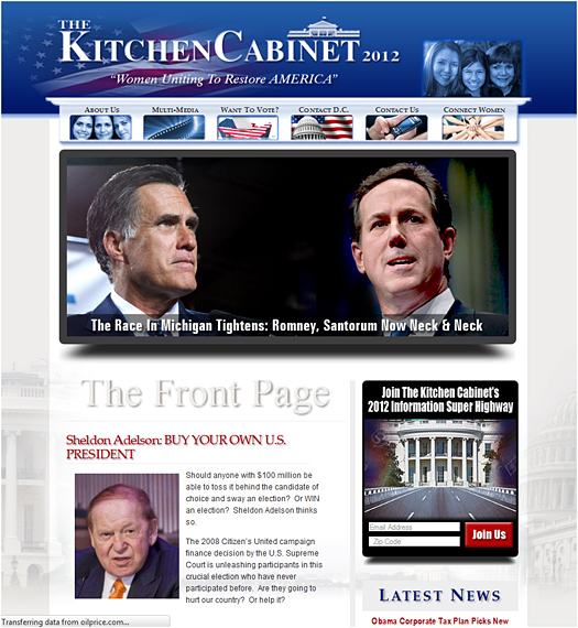 The Kitchen Cabinet Home Page