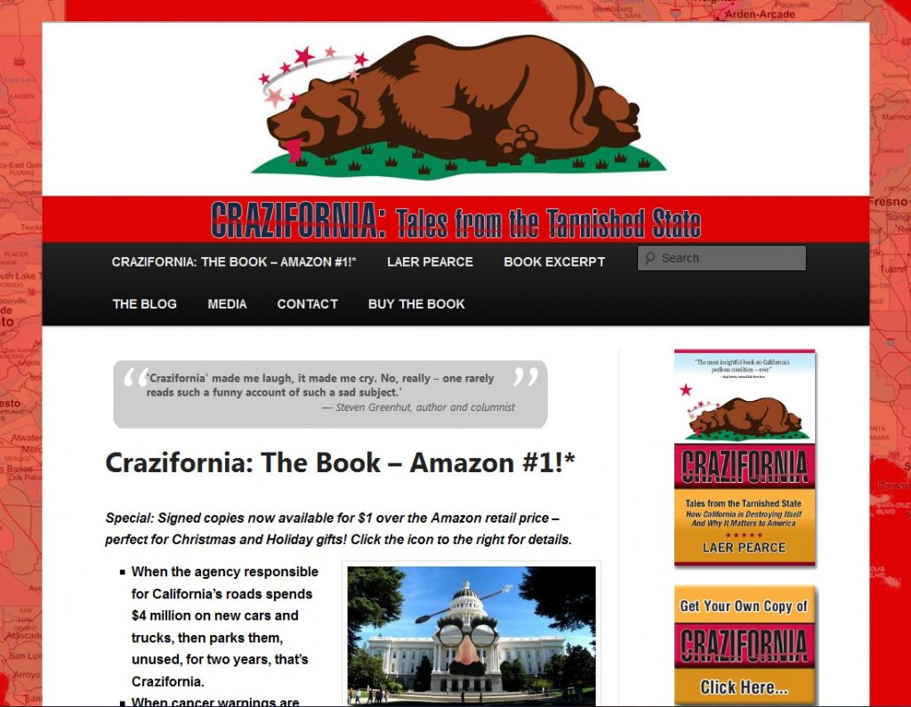 Crazifornia.com Home Page